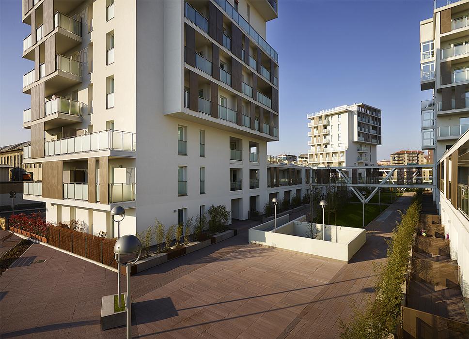 Social housing via cenni rpa rossiprodi associati for Viale alemagna 6 milano